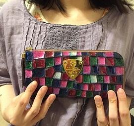 4841be1384d5 私の宝物♡和製ブランドATAOのステンドグラスみたいな長財布 | 高級人気 ...